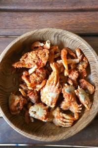 chiangmai-fried baby crab