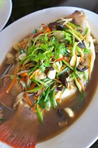 chiangmai-yunnan steamed fish