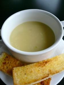 mael-asparagus soup