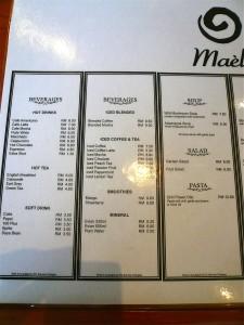 mael-menu