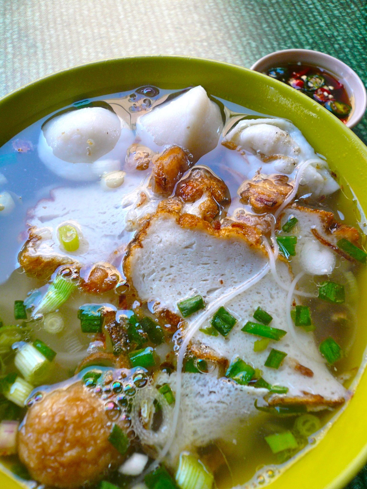 pudu-fishball noodles