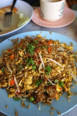Yut Kee belachan fried rice