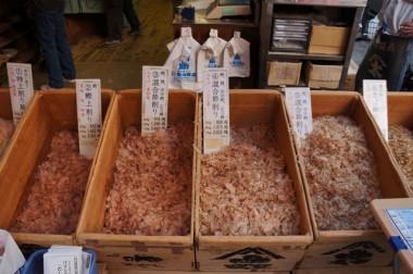tsukiji - bonito flakes