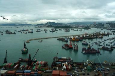 view from w hotel hongkong