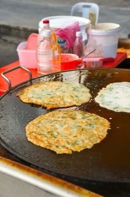 fei ma leek pancake