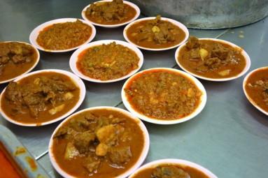 Santa Chapati off Jalan TAR - keema & lamb curry