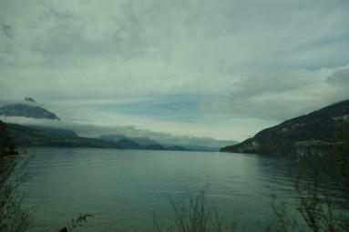 lake view on the way to interlaken