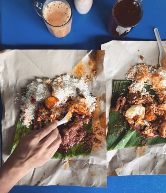 nasi lemak - jalan walter grenier